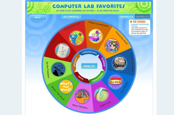 http://teacher.scholastic.com/activities/clf/tguidesitemap.htm